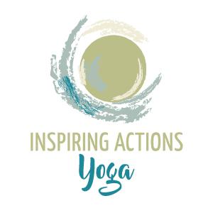Inspiring Actions Yoga Logo Hudson Yoga Studio River Falls Yoga Studio