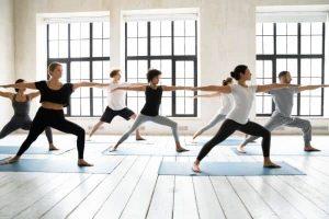 heated yoga